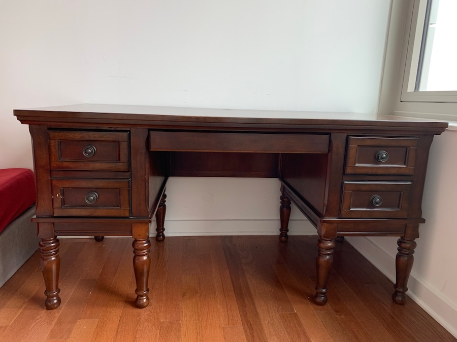 Used Raymour And Flanigan Computer Table For Sale In Jersey City   Letgo