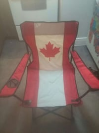 red and white flag of canada camping chair Victoria, V9B 0R4