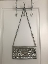 Silver Guess purse (excellent condition)