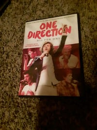One Direction DVD and T-shirts Sioux Falls, 57103