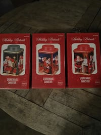 holiday portraits stoneware canister South Glens Falls, 12803