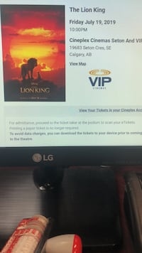 VIP movie tickets at Seton for 2  Calgary, T2A 6J4