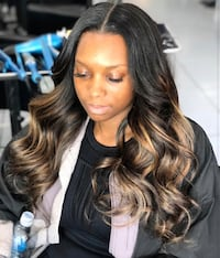 Middle part sew in $85 Baltimore, 21215