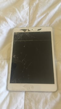 Ipad mini 2 16gb & iPod Touch 8gb.  ipad screen cracked but all features work perfectly fine
