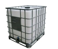 black and gray metal pet cage or water tank 37 km