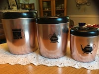 1960s Copper Canisters Kensington, 20895