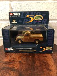 Corgi Classics Gold Plated Land Rover boxed Limited Edition L'Île-Perrot