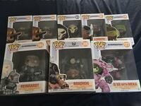 Funko pop overwatch collection                                                          Negotiable Falls Church, 22044