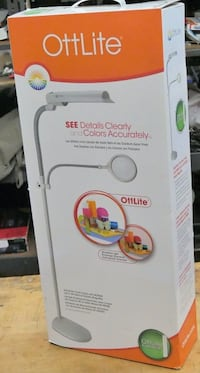 Ott-Lite Easy View Floor Fexible Neck Lamp P2337T Brand new. IN BOX. Baltimore, 21205