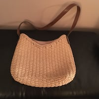 Brown and beige bag / purse