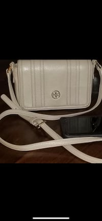 Tory Burch Shoulder Crossbody ~ Leather Taupe  Richmond, V7E 6S2