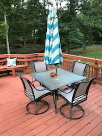 Deck furniture in good condition Gaithersburg, 20877