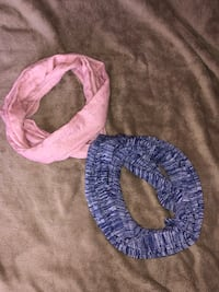Pink and purple infinity scarves  Mount Juliet, 37122