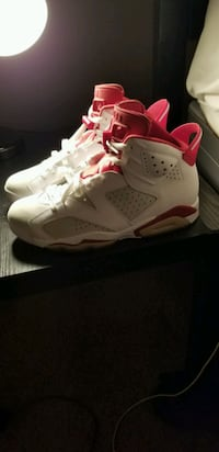 Air Jordan 6 Red and white  East Point, 30344