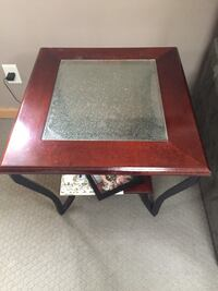 Square brown wooden coffee table Ronkonkoma, 11779