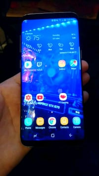 black Samsung Galaxy S8 edge Deltona, 32725