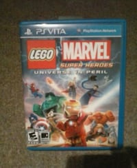 Lego Marvel Super Heroes PS4 game case Goldsboro, 17319