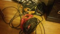 black and red corded gaming headset Fitchburg, 01420