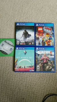 PS3/PS4 Games Ottawa, K2T 0A4