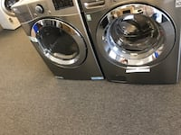 two gray front-load clothes washer and dryer set Citrus Heights, 95621