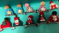 Mini holiday clips .75 cents each Toronto, M6A 2R5