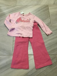 Toddler pants and top size 2