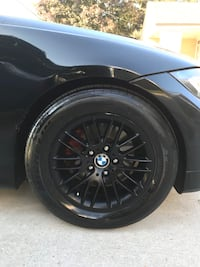 Bmw Rims on Michelin Pilots in good condition