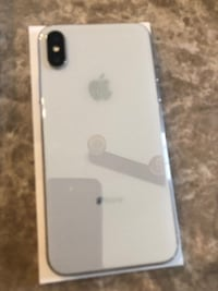 Apple iPhone X - 256GB - Silver (Unlocked) A1865 (CDMA + GSM MOSCOW