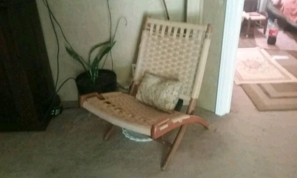 Vintage scandavian chair purchased in San Francisc