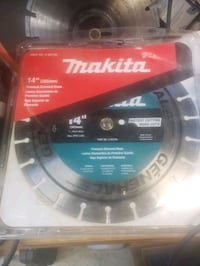 "makita 14"" diamond blade  Toronto, M9P"