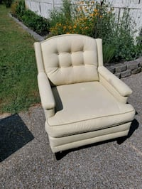2 arm chairs - cream. $15 each or $25 for both. Brentwood, 37027