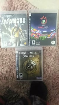 two Sony PS3 game cases North Las Vegas, 89032