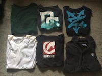 DC and other brand shirts all large 15 for all 250 mi