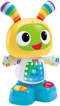 NEW Fisher-Price Bright Beats Dance & Move Robot FRENCH Vaughan