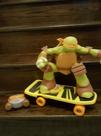 Teenage mutant turtle on skate board with  control Vaughan, L4L 2A1