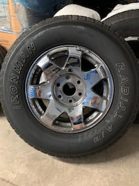 Rims n tires great condition and lot of meat tires  original GMC   Arlington, 22202