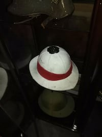 WW1 era pith hat, military Burlington, L7M 2X7