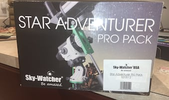 New Telescope. - Star Adventurer Pro pack