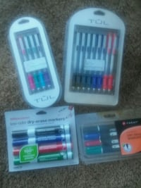 Gel pens,ball points,felt tip ,dry erase, all type Kent, 98032