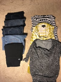 Maternity jeans and tops Germantown