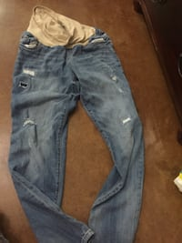 blue denim straight cut jeans Lake Charles