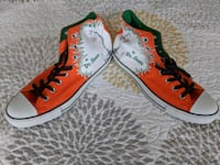 Dr.Seuss How the Grinch Stole Christmas Converse All Stars Size 11 NIB Purcellville