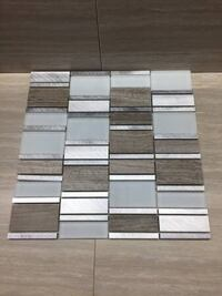 Marble, glass and aluminum mosaic tiles Surrey, V3S 3P1