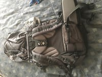 Adventure Backpack Traveling Pack With Waist Belt And Rain Protector  Edmonton, T6E 2E2