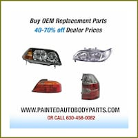 Painted Car parts Bumpers Fenders Hoods Wheeling