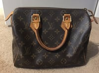 black monogrammed Louis Vuitton leather tote bag Calgary, T2V 0M6