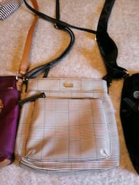 black and red leather crossbody bag Greenville, 29611