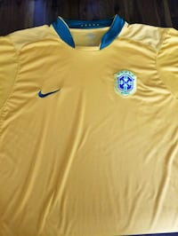 Authentic Nike Brazil Soccer Jersey XL  Milton