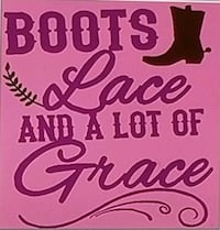 Boots lace and alot of grace shirt  Florence, 39073