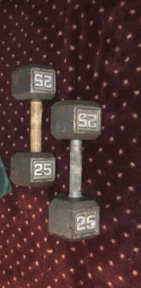 Two 25lbs dumbbells New York, 10009